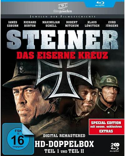 Steiner - Das Eiserne Kreuz 1 und 2  Doppelpack BR