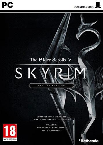 Skyrim  PC  S.E.   Code in Box  AT inkl 3 DLC  The Elder Scrolls