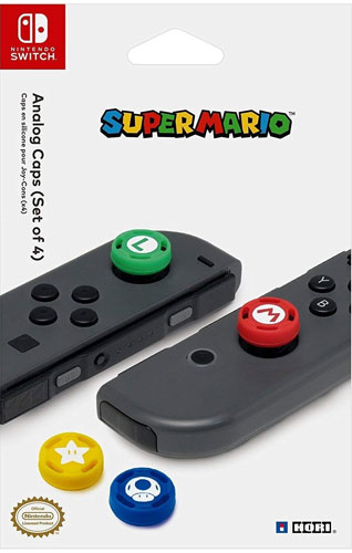 Switch Grips Super Mario  4 Stück HORI