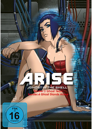 Ghost in the Shell ARISE: Bord.3&4 (DVD) Min: 112/DD/WS     ARISE: Borders 3 & 4