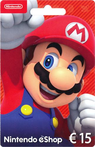Nintendo  Card  15 Euro NEU