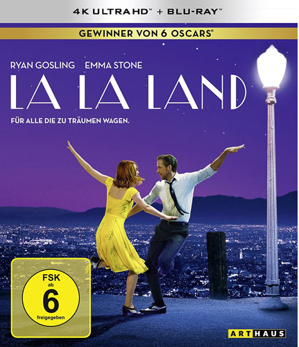 La La Land (UHD+BR) 2Disc, 4K Ultra Min: /DD5.1/WS