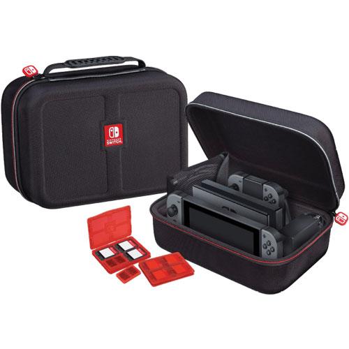 Switch Tasche Deluxe Case (black) NNS60 offiziell lizenziert