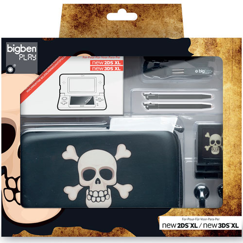2DSNXL Pack Pirate New 2DS XL