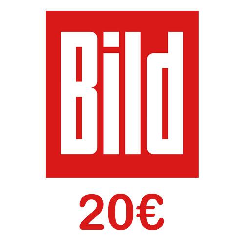 Prepaid BILD Mobil 20 Euro Guthaben Pin