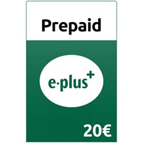 Prepaid E-plus 20,- Guthaben Pin