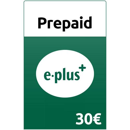 Prepaid E-plus 30,- Guthaben Pin