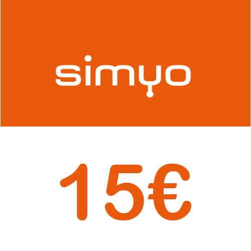 Prepaid Simyo 15,- Guthaben Pin
