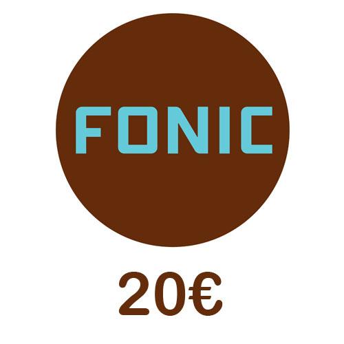 Prepaid Fonic 20,- Guthaben PIN Code als pdf. Verkauf erfolgt im Namen u. auf Rechnung des Gutscheinausstellers