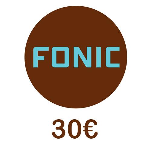 Prepaid Fonic 30,- Guthaben PIN Code als pdf. Verkauf erfolgt im Namen u. auf Rechnung des Gutscheinausstellers