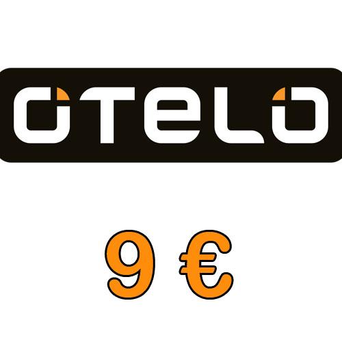 Prepaid o.tel.o  9,- Guthaben Pin
