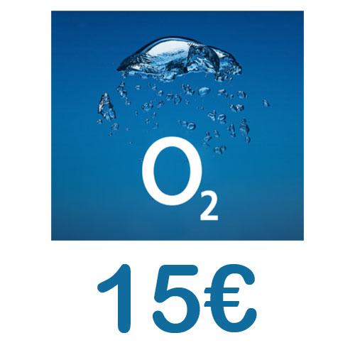 Prepaid O2 Loop 15,- Guthaben Pin