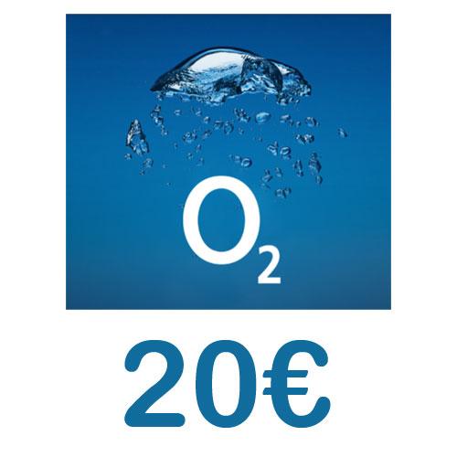 Prepaid O2 Loop 20,- Guthaben Pin