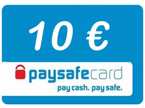 Paysafe  10 Euro Guthaben PIN