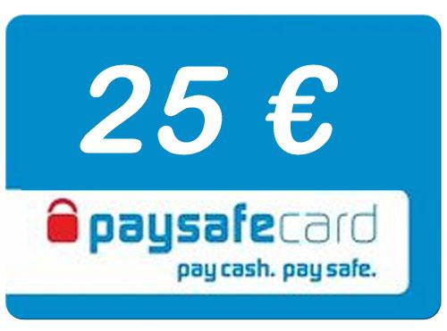 Paysafe  25 Euro Guthaben PIN