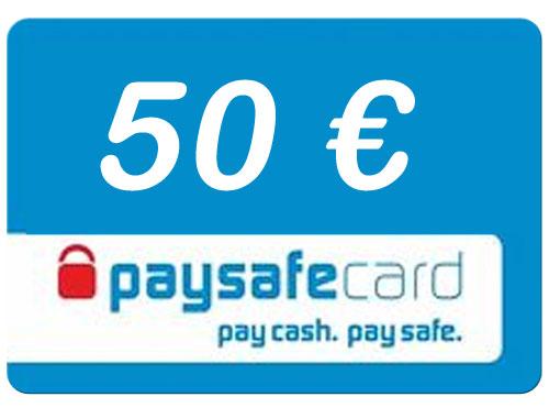 Paysafe  50 Euro Guthaben PIN