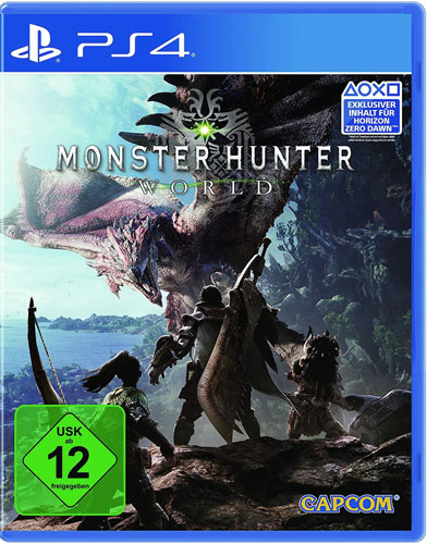Monster Hunter World  PS-4