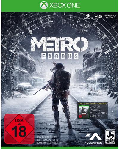 Metro Exodus  XB-One inkl Metro Redux 2033