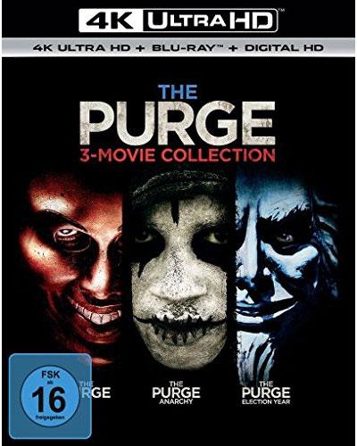 Purge, The  Trilogy (UHD+BR) 6Disc Min: 297/DD5.1/WS