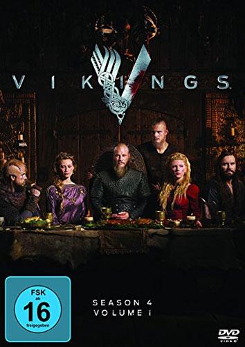 Vikings - Staffel 4.1 (DVD) 3Disc Min:  /DD5.1/WS