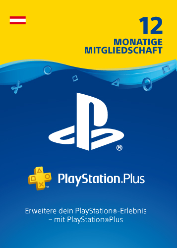 PSN Code  12 Monate NEU AT PlayStation+ Code wird als PDF Datei geliefert PlayStation Network