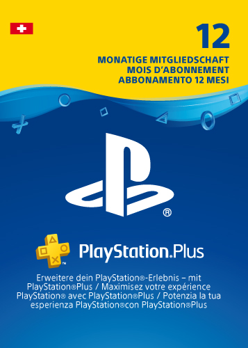 PSN Code  12 Monate NEU CH PlayStation+ Code wird als PDF Datei geliefert PlayStation Network