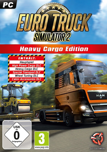 Euro Truck Simulator 2  PC Heavy CargoEd
