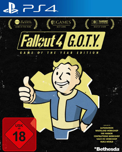 Fallout  4  PS-4  GOTY