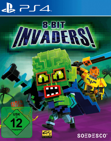 8 Bit Invaders  PS-4