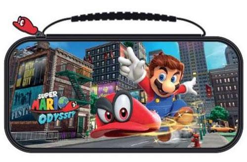 Switch Travel Case Mario Odyssey  NNS58 offiziell lizenziert