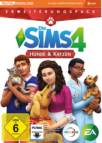Sims 4  PC  Addon  Cats & Dogs