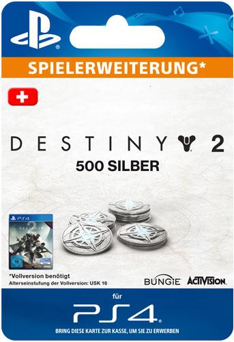 ESD Destiny 2 Silver  500 CH Code wird als PDF Datei geliefert Einzweckgutschein