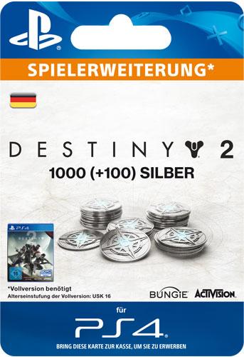 ESD Destiny 2 Silver 1000 +100 Code wird als PDF Datei geliefert Einzweckgutschein
