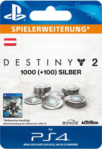 ESD Destiny 2 Silver 1000 +100 AT Code wird als PDF Datei geliefert Einzweckgutschein