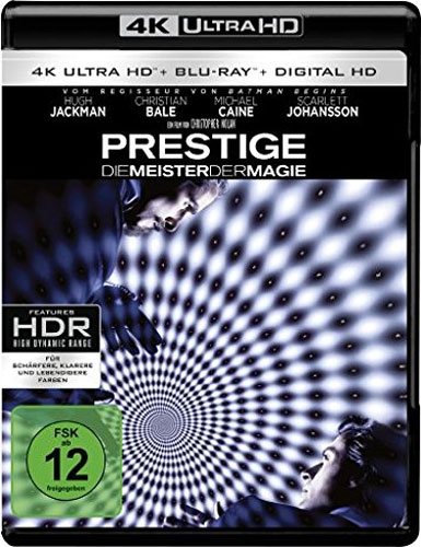 Prestige - Meister der Magie (UHD+BR) Min: 130/DD5.1/WS  2Disc,  +UV