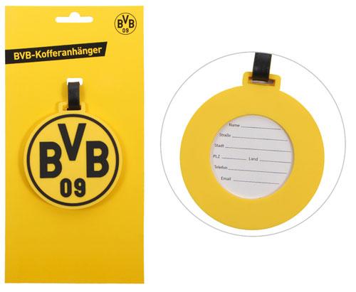 BL Kofferanhänger Borussia Dortmund ca. 8cm   PVC