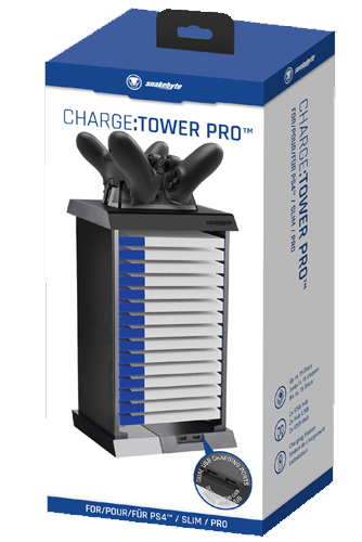 PS4 Ladestation Charge Tower PRO