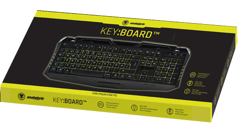 PC Keyboard  Gaming Key:Board