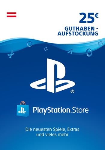 PSN Code 25  Euro AT Code wird als PDF Datei geliefert PlayStation Network