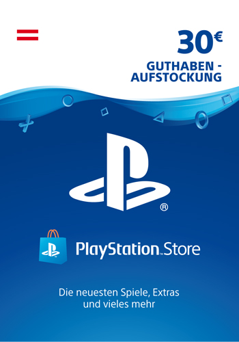 PSN Code 30  Euro AT Code wird als PDF Datei geliefert PlayStation Network