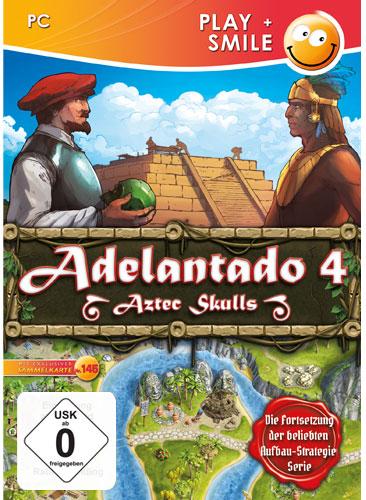 Adelantado 4  PC  Aztec Skulls