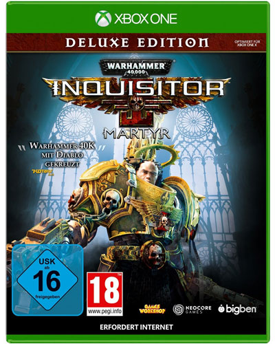 Warhammer Inquisitor Martyr  XB-One DLX Warhammer 40.000