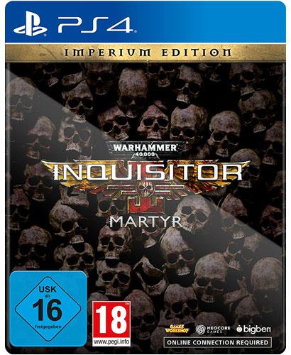 Warhammer Inquisitor Martyr  PS-4  Imp. Warhammer 40.000       Imperium Edition
