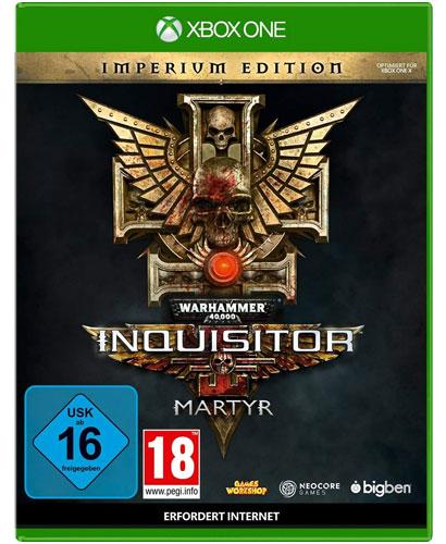Warhammer Inquisitor Martyr  XB-One Imp. Warhammer 40.000       Imperium Edition