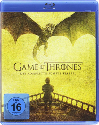 Game of Thrones - kompl. Staffel 5 (BR) 4Discs, Neuauflage REPACK