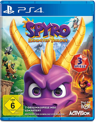 Spyro Reignited Trilogy  PS-4