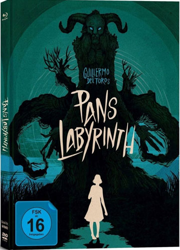 Pans Labyrinth - CE Mediabook (BR+DVD)LE 3Disc, 2BR+DV Limited Collectors Edition
