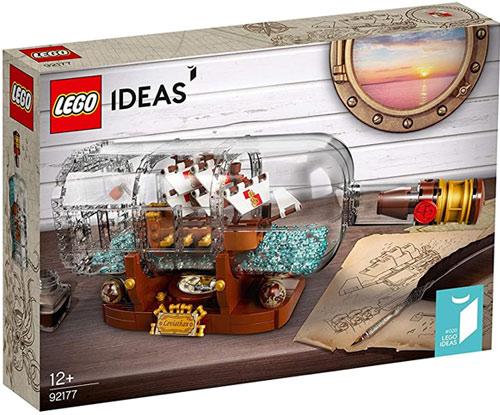 Lego Ideas Schiff in der Flasche Bausatz (21313)