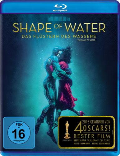 Shape of Water - Flüstern d.Wassers (BR) Min: 124/DD5.1/WS