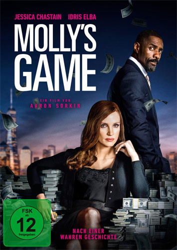 Molly's Game: Alles auf eine Karte (DVD) Min: 135/DD5.1/WS